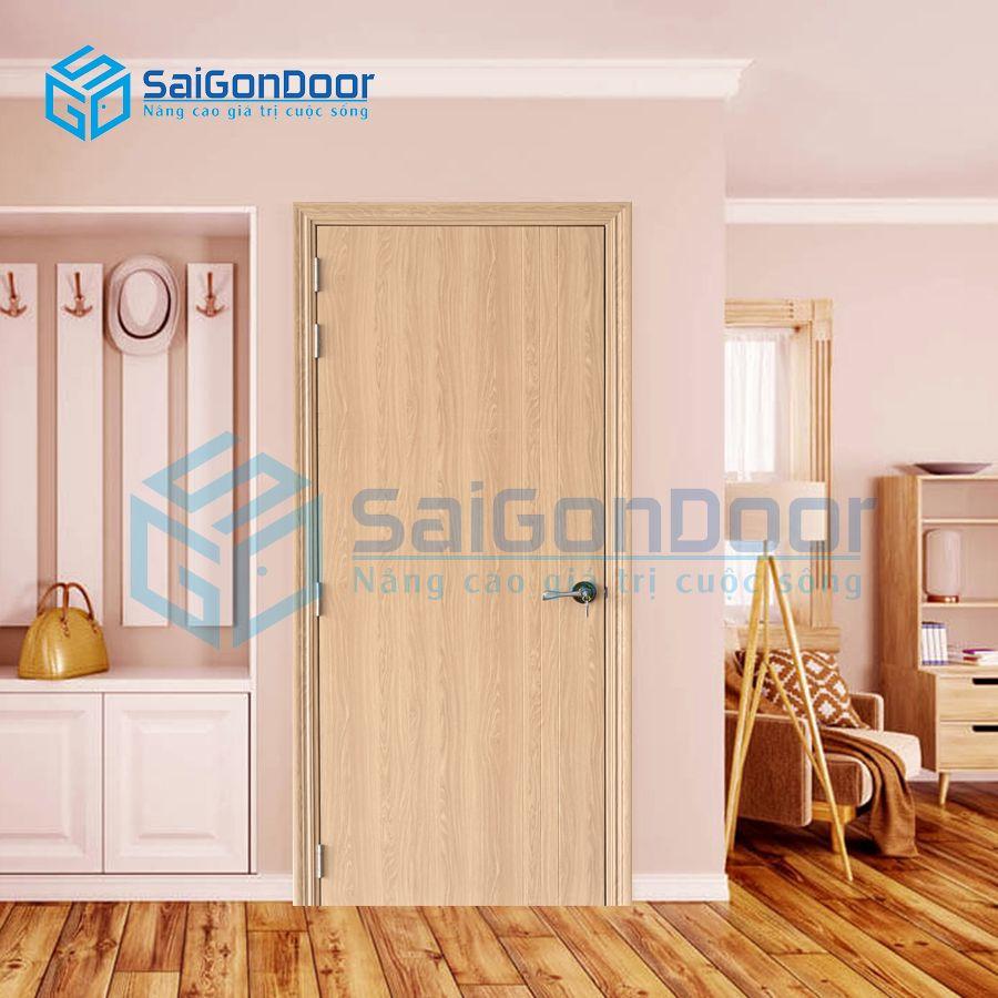 Cửa nhựa gỗ căn hộ cao cấp SYB.100-B06