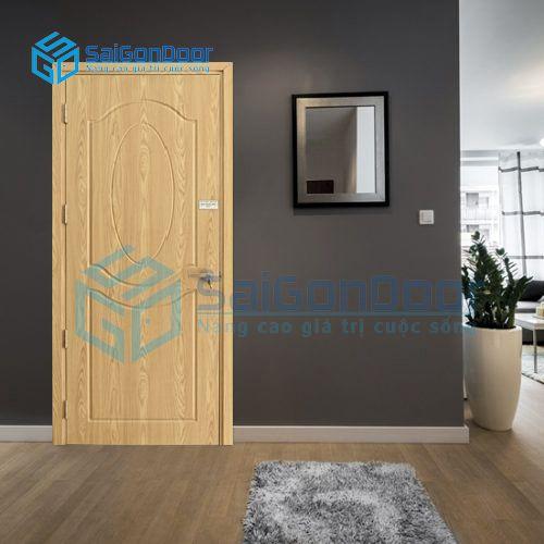 Cửa gỗ nhựa phòng khách SYB.243-B06