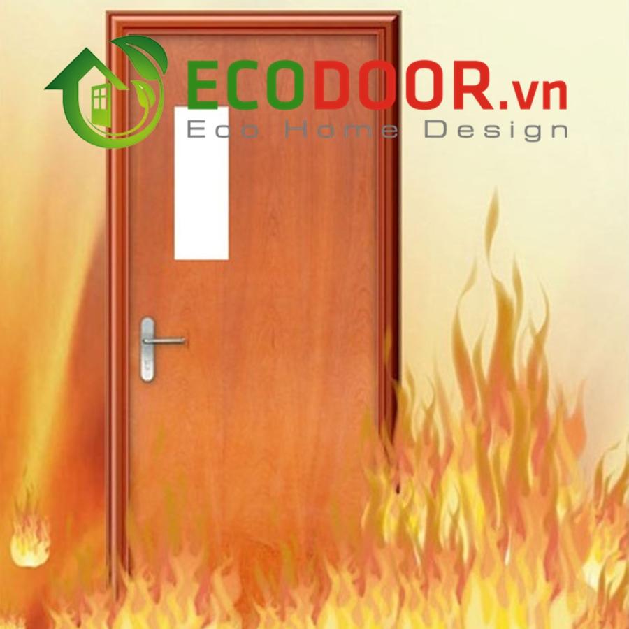 Cửa gỗ chống cháy - sản phẩm cần thiết trong sinh hoạt và sản xuất