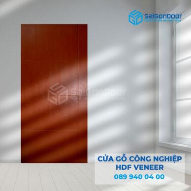 Báo giá cửa gỗ công nghiệp HDF tại TP HCM
